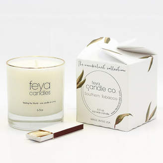 Asstd National Brand Feya Candle 6.5oz Southern Tobacco Soy Candle