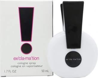 Coty Exclamation Eau De Cologne For Women