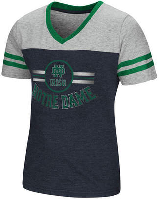 Colosseum Notre Dame Fighting Irish Pee Wee T-Shirt, Girls (4-16)