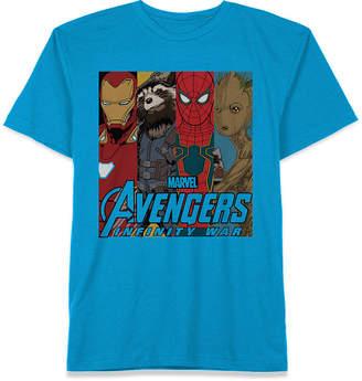 Marvel Big Boys Avengers Graphic Cotton T-Shirt