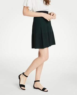 Ann Taylor Petite Stitched Sweater Skirt