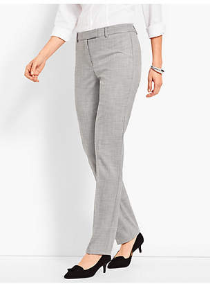 Talbots High-Waist Straight-Leg-Chambray