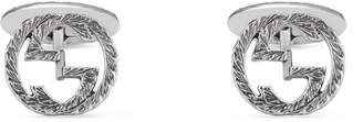 Gucci Interlocking G cufflinks