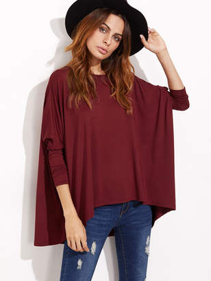 cc4fae53 Shein Oversized Dolman Sleeve T-shirt