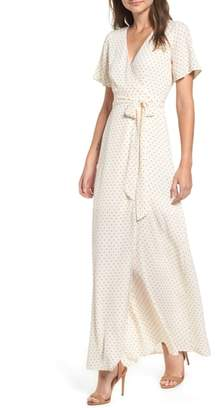Leith Wrap Maxi Dress