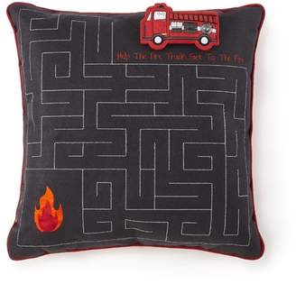 Morgan Home Ladder 23 Throw Pillow Cover Material: Polyester Blend