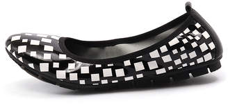 Gamins Gellsi Black & white Shoes Womens Shoes Casual Flat Shoes