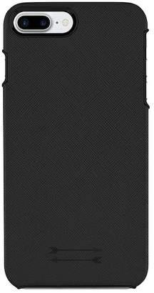 Uri Minkoff Saffiano Leather iPhone 7 Plus Wrap Case - Black