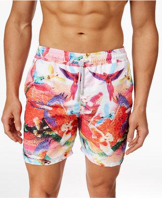 """Velero Men's Guacamaya Bird Swim Trunks, 5"""" $80 thestylecure.com"""