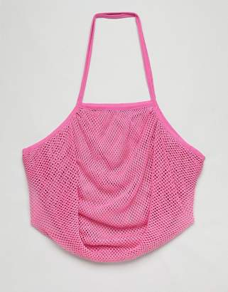 Asos BEACH String Shopper Bag