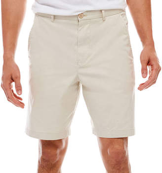 BISCAYNE BAY Biscayne Bay Washed Relaxed Fit Twill Shorts