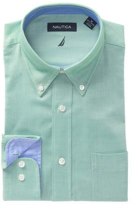 Nautica Oxford Classic Fit Dress Shirt