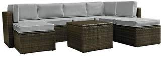 Residence Callie 8-Piece Outdoor Wicker Seating Set