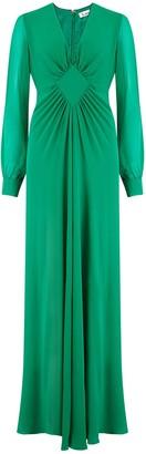 Libelula Long Jessie Dress Emerald Georgtte