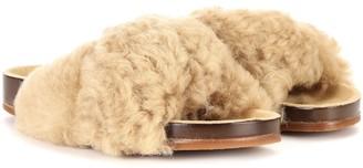 Chloé Exclusive to mytheresa.com Fur slides