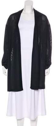 Alaia Open Front Knit Cardigan