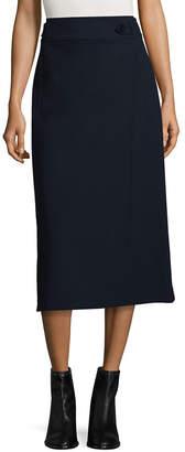 Tibi Anson Stretch Tab Skirt