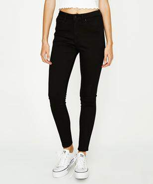 Lee High Licks Black Gold Jean