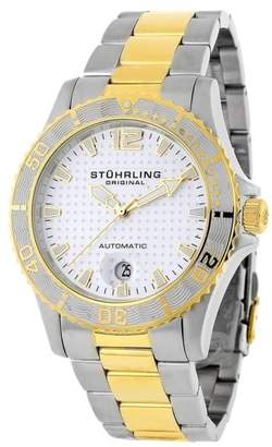 Stuhrling Original Regatta 161.332232 Stainless Steel 42mm x 41mm Watch