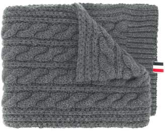 Thom Browne Chunky Cable Cashmere Scarf