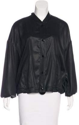 Creatures of Comfort Satin Bomber Jacket