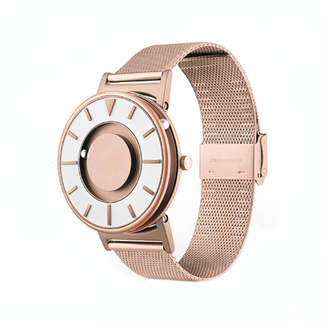 "Eone Time Rose Gold Mesh Watch ""Bradley"""
