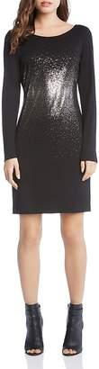 Karen Kane Metallic Ombré Print Sheath Dress