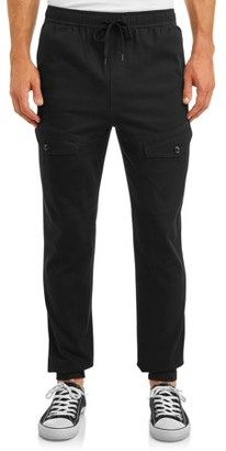 Hollywood Men's Stretch Twill Cargo Jogger With Angled Pockets