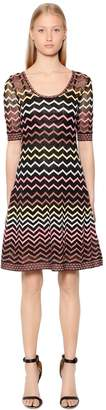 M Missoni Zigzag Lurex Knit Dress