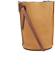 Loewe Women's Gate Leather Bucket Bag