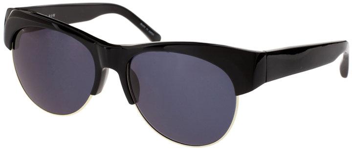 The Row Half Acetate Sunglasses With Gradient Lens