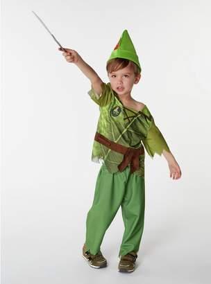 Disney Peter Pan Fancy Dress Costume - 7-8 Years