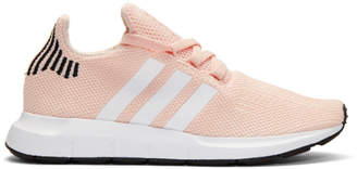 adidas Pink Swift Run Knit Sneakers