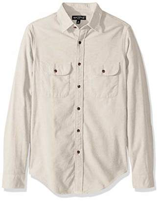 J.Crew Mercantile Men's Long-Sleeve Elbow Patch Shirt