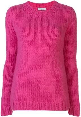Gabriela Hearst crew-neck chunky knit sweater