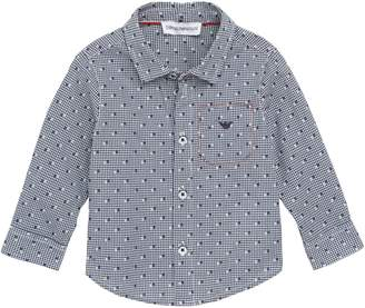 Armani Junior Micro Dot Shirt