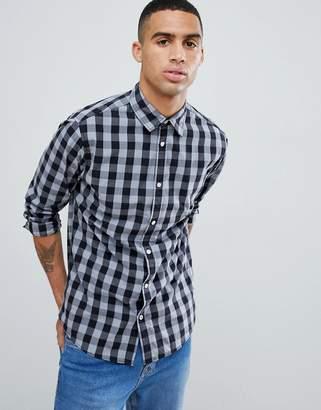 Jack and Jones Essentials Slim Fit Gingham Shirt