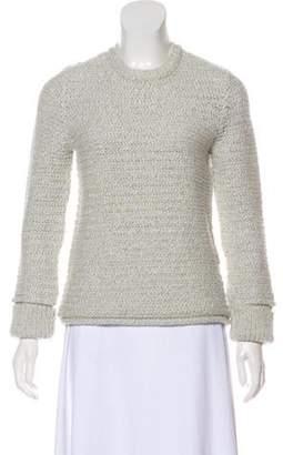 Wes Gordon Lightweight Knit Sweater grey Lightweight Knit Sweater