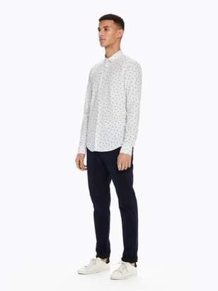 Scotch & Soda Mini-Printed Shirt | Slim fit