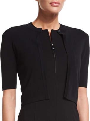 Akris Punto Half-Sleeve Short Cardigan