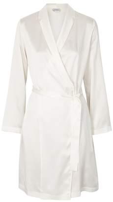 La Perla Ivory Silk Robe