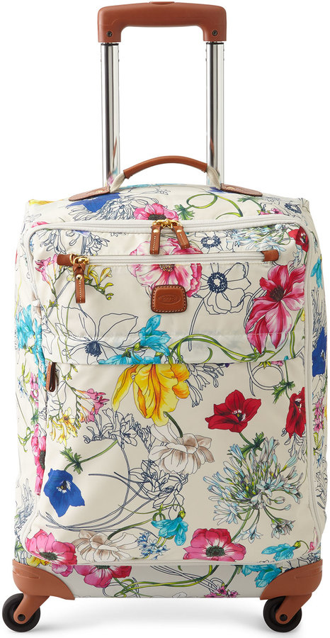 "Bric's Bric's X-Bag Floral 21"" Carry-On Spinner"