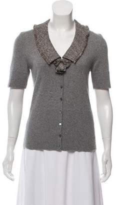 Rena Lange Cashmere Short sleeve Top