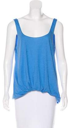 Elizabeth and James Sleeveless Asymmetrical Top