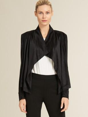 DKNY Drape Front Jacket