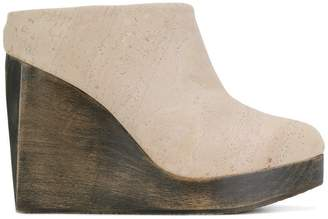 Sydney Brown wedge clogs