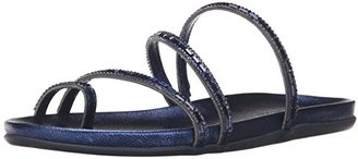 Kenneth Cole REACTION Women's Slim Love Toe-Ring Sandal $49 thestylecure.com