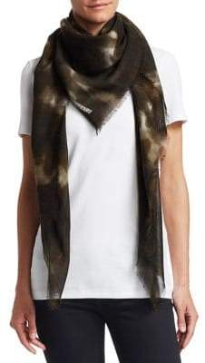 Stella McCartney Silk, Cashmere& Wool Scarf