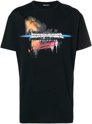 Balmain apocalypse t-shirt