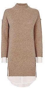 Brochu Walker Layered Sweater Dress $398 thestylecure.com